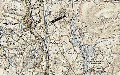 Old map of Limbrick in 1903