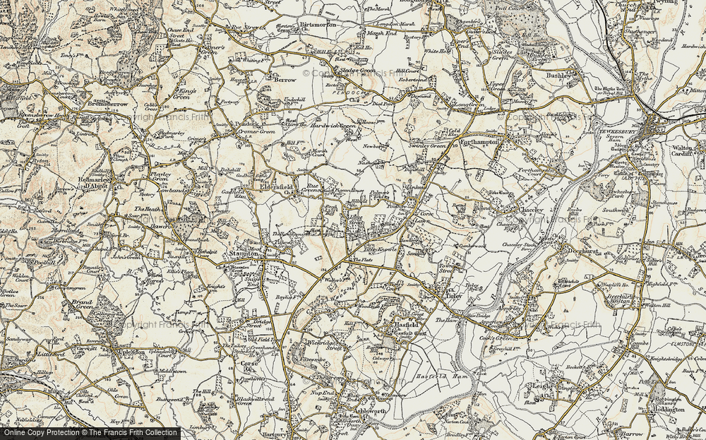 Old Map of Lime Street, 1899-1900 in 1899-1900