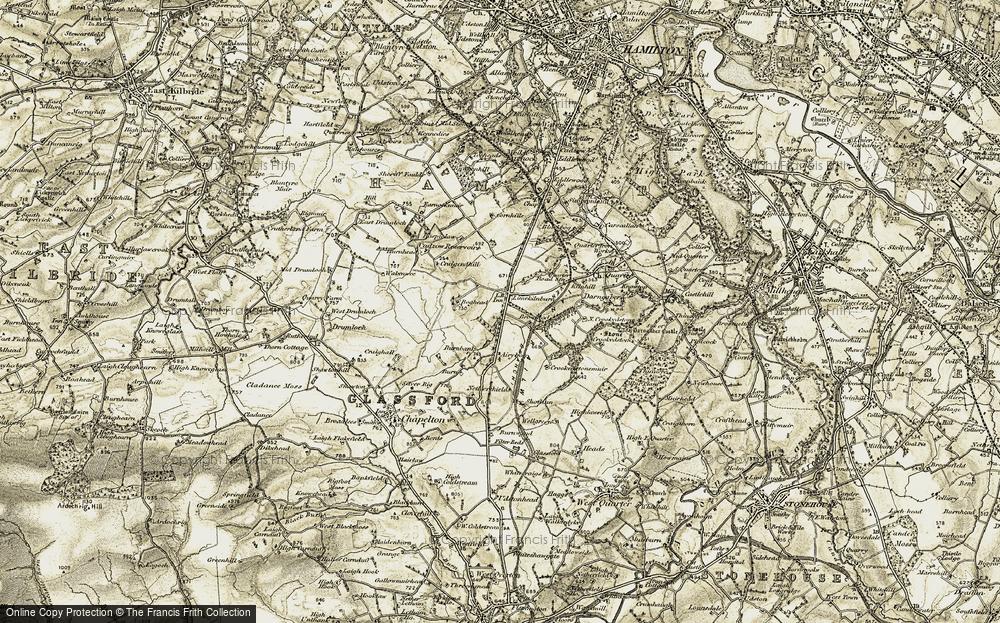 Limekilnburn, 1904-1905