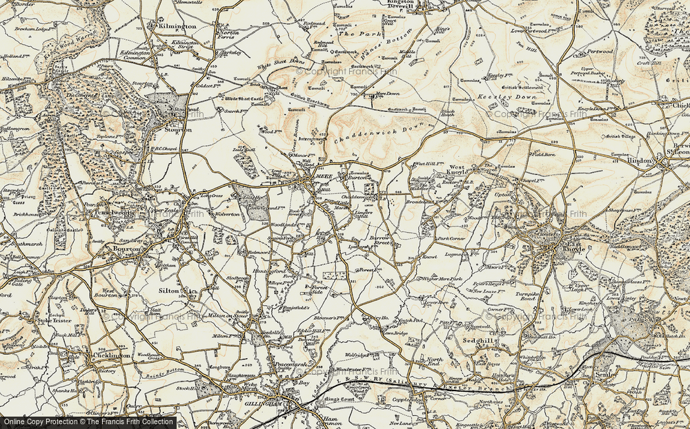 Old Map of Limpers Hill, 1897-1899 in 1897-1899