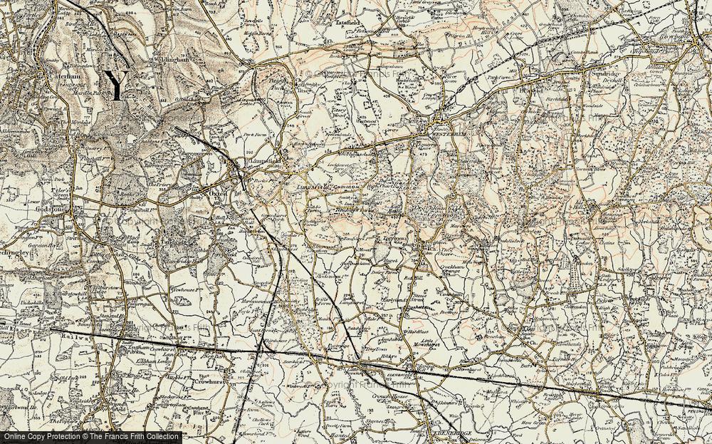 Limpsfield Chart, 1898-1902