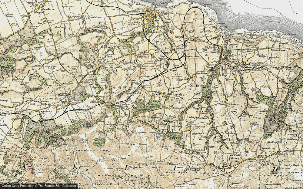 Old Map of Lingdale, 1903-1904 in 1903-1904