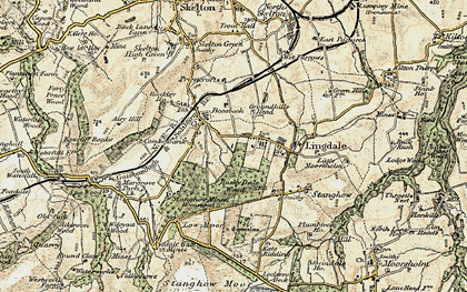 Old map of Lingdale in 1903-1904