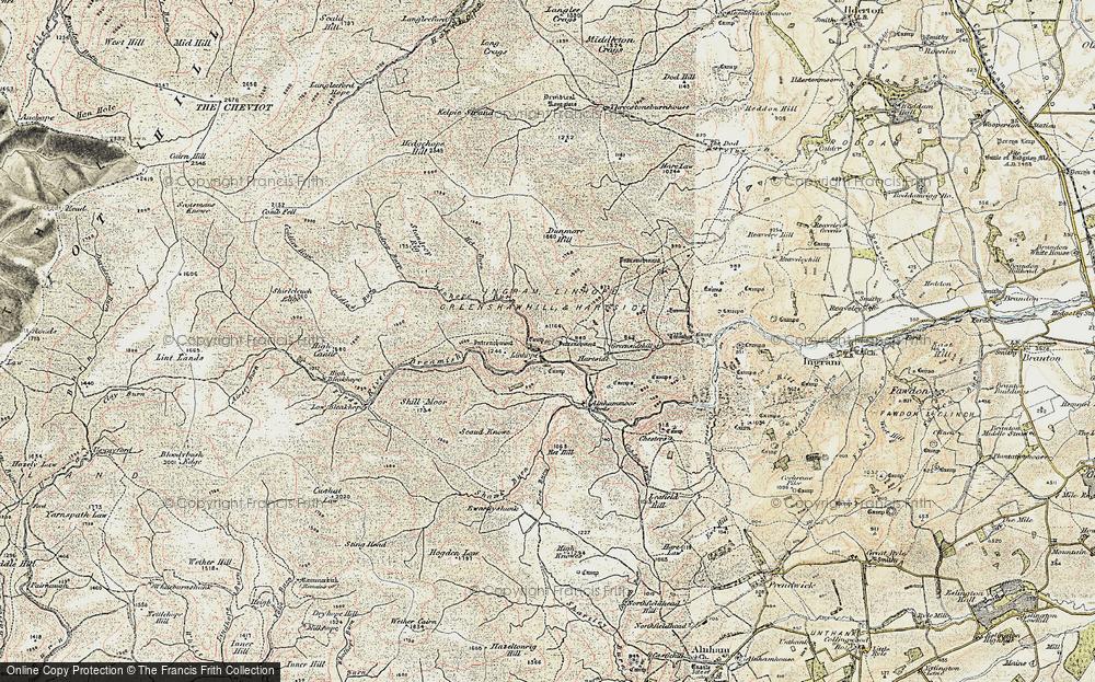 Linhope, 1901-1903
