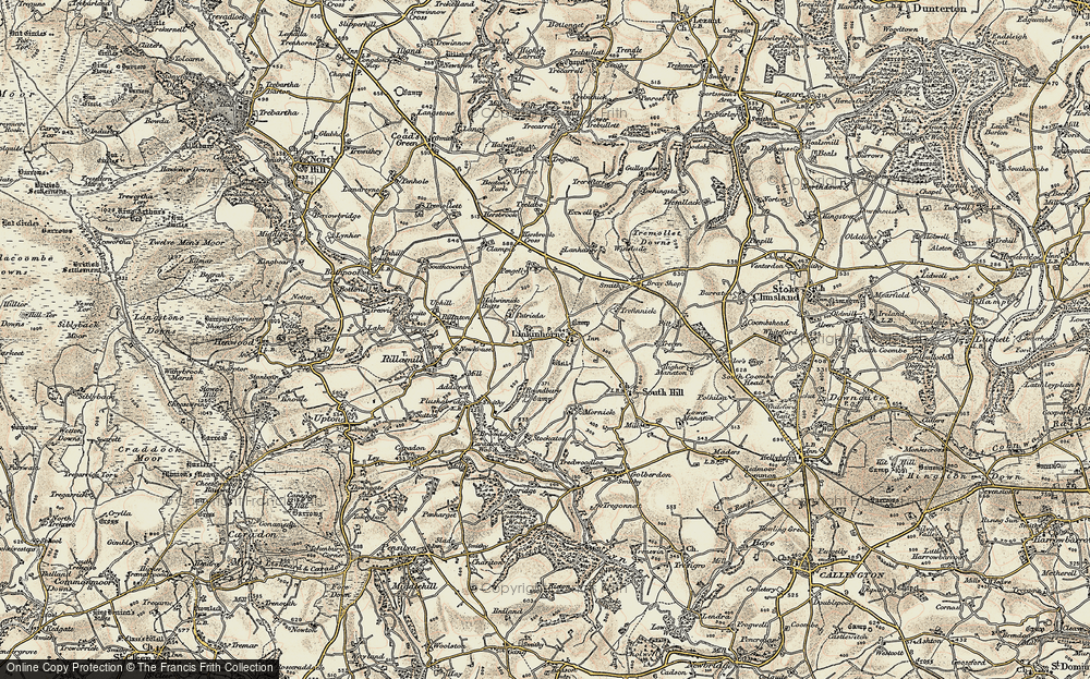 Linkinhorne, 1899-1900