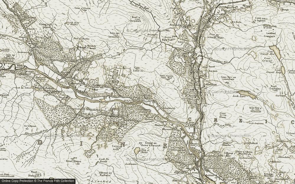 Linsidemore, 1910-1912