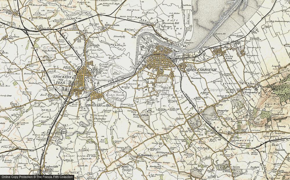 Linthorpe, 1903-1904
