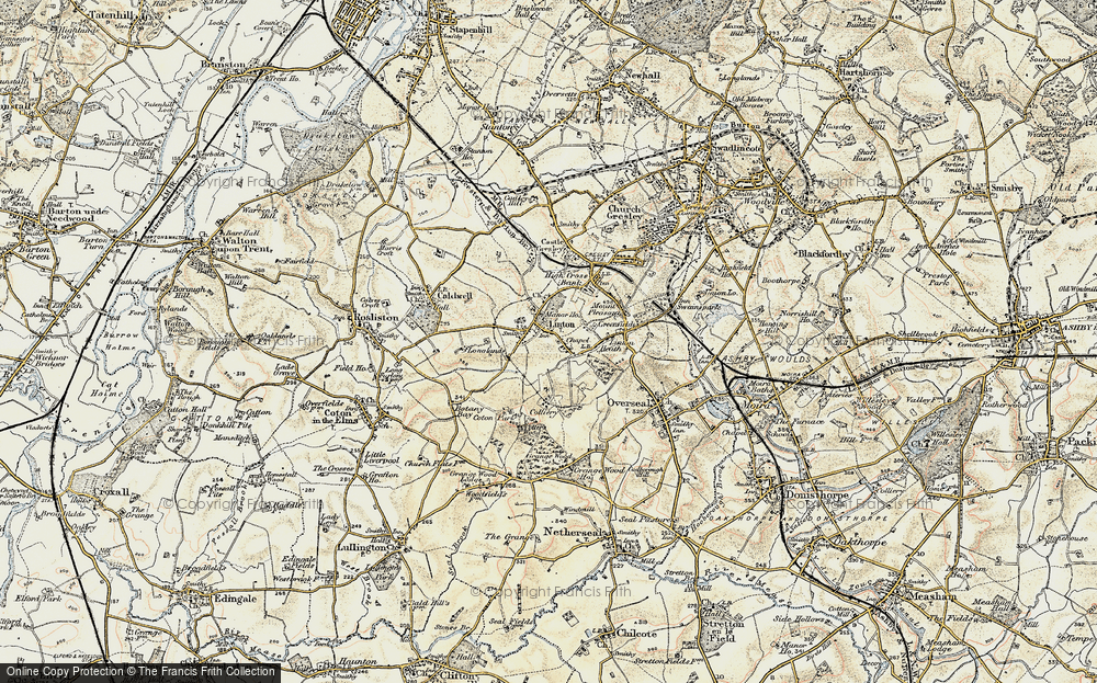 Old Map of Linton, 1902 in 1902
