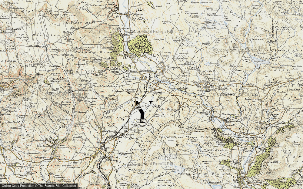 Old Map of Linton, 1903-1904 in 1903-1904