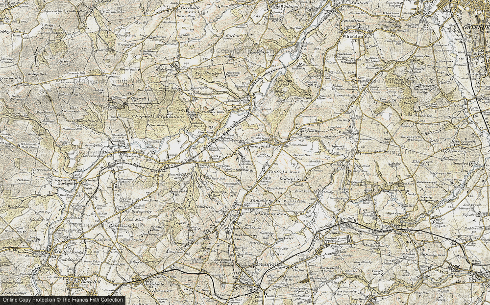 Old Map of Lintz, 1901-1904 in 1901-1904