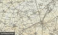 Map of Litlington, 1898-1901