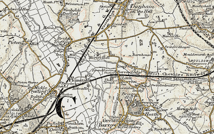 Old map of Ardmore in 1902-1903
