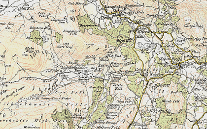 Old map of Wilson Place in 1903-1904