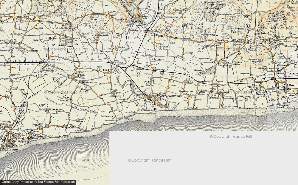 Old Maps of Littlehampton Francis Frith