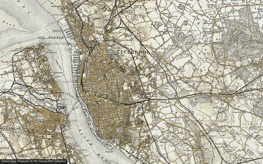 Old Map of Liverpool, 1902-1903 in 1902-1903