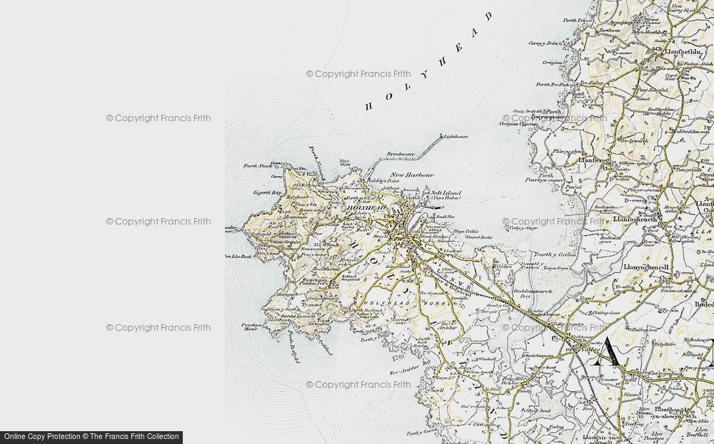 Old Map of Llaingoch, 1903-1910 in 1903-1910