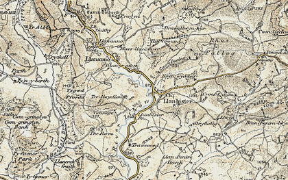 Old map of Bachell Brook in 1901-1903