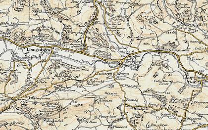 Old map of Allt Goch in 1902-1903