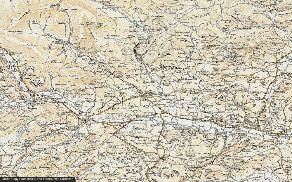 Llanrhaeadr-ym-Mochnant, 1902-1903