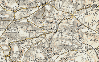 Old map of Ledgerland in 1901