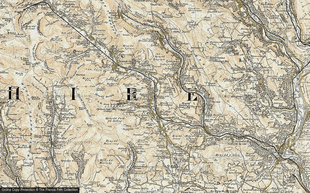 Llwynypia, 1899-1900