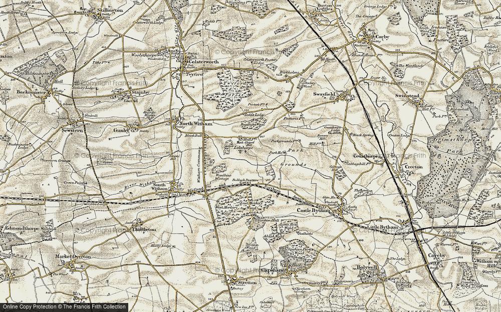 Lobthorpe, 1901-1903