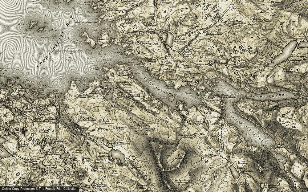 Loch a' Chàirne Bhàin, 1910