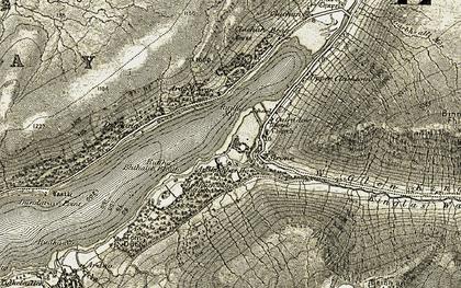 Old map of Ardgenavan in 1906-1907