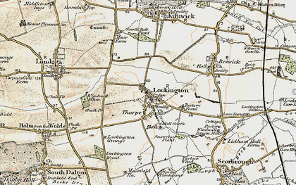 Old map of Windmill Whin in 1903