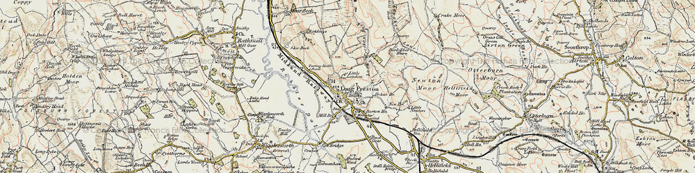 Old map of Wild Share in 1903-1904