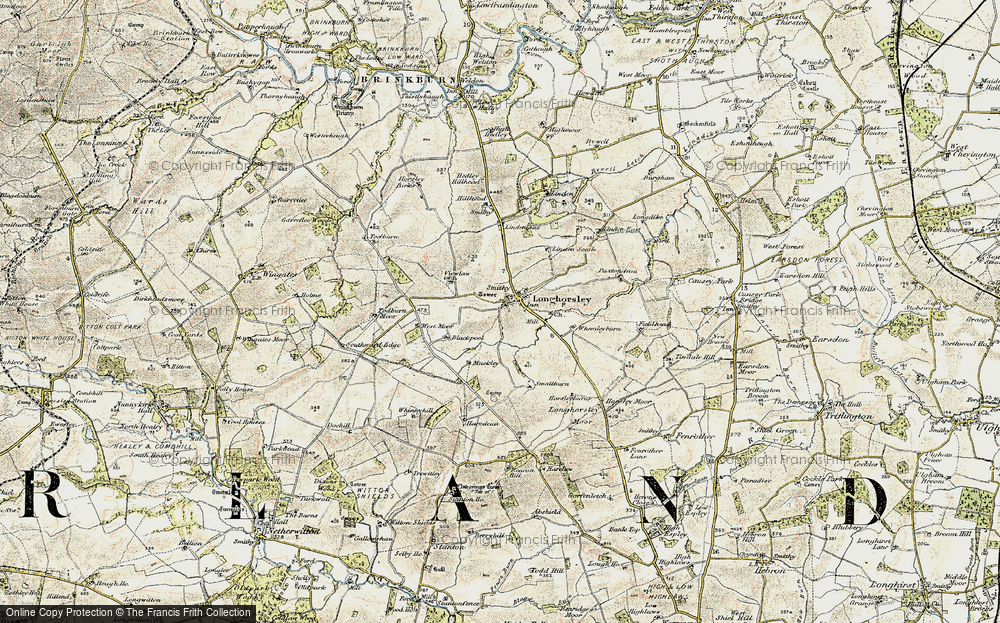 Longhorsley, 1901-1903