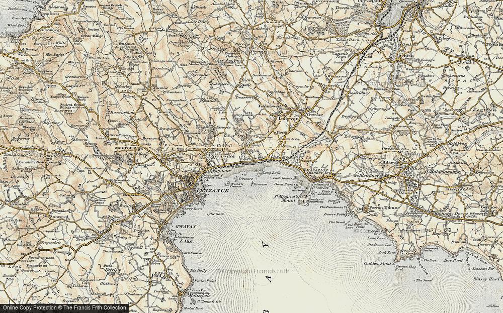 Longrock, 1900