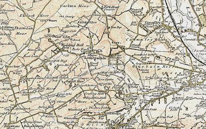 Old map of Leys Ho in 1903-1904