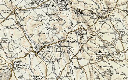 Old map of Winterburn Brook in 1902