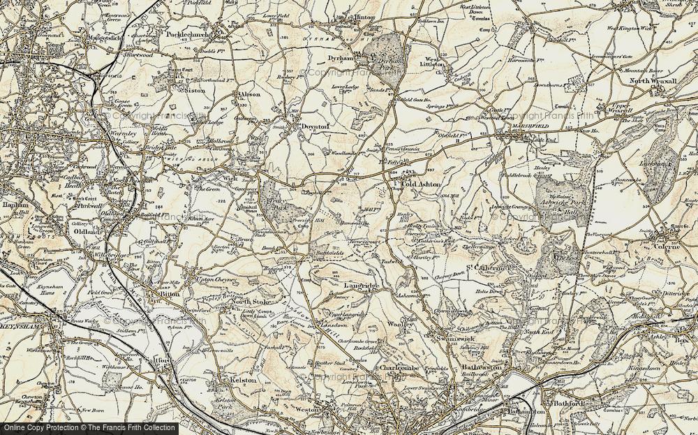 Lower Hamswell, 1899