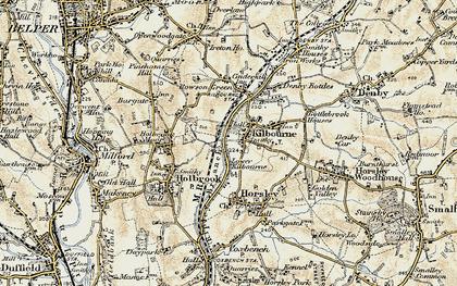 Old map of Lower Kilburn in 1902-1903