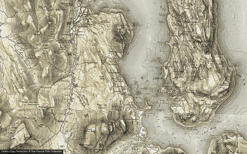 Lower Ollach, 1908-1909