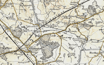 Old map of Kinsale in 1902