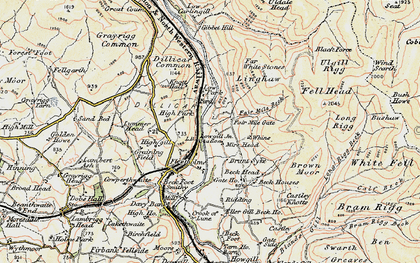 Old map of Linghaw in 1903-1904