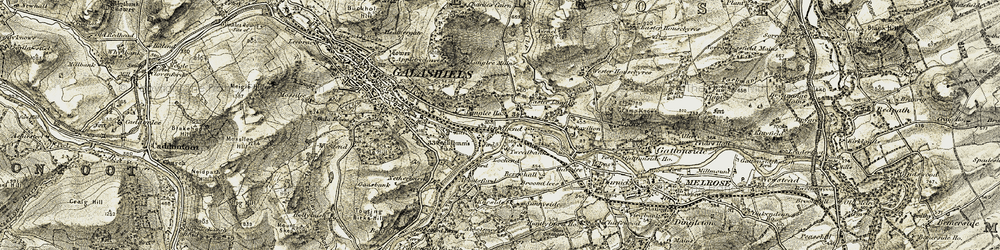 Old map of Abbotsford in 1901-1904