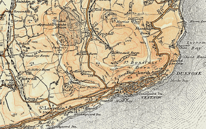 Old map of Lowtherville in 1899
