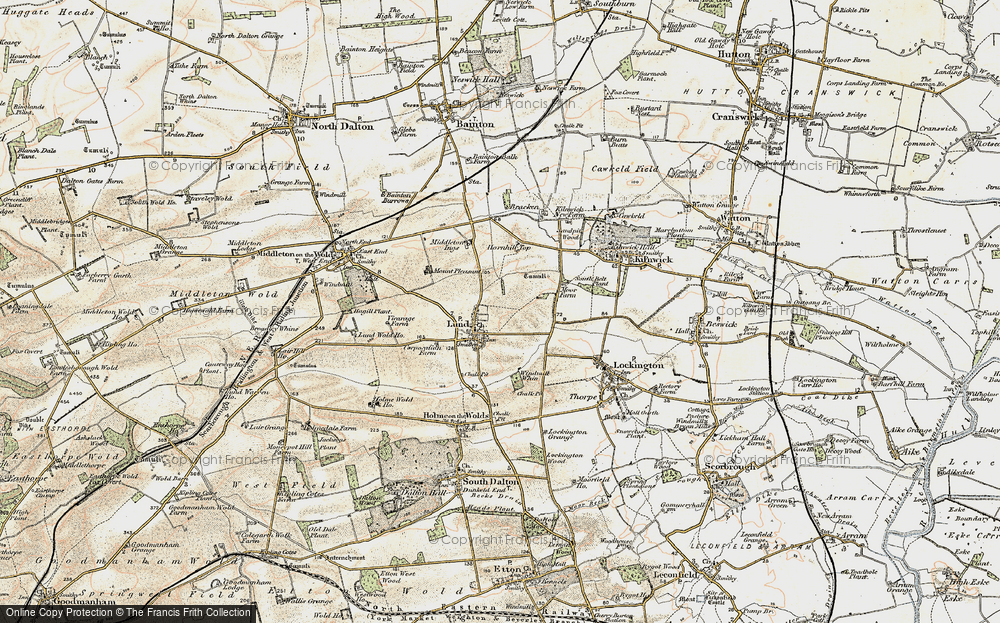 Old Maps of Lund Francis Frith