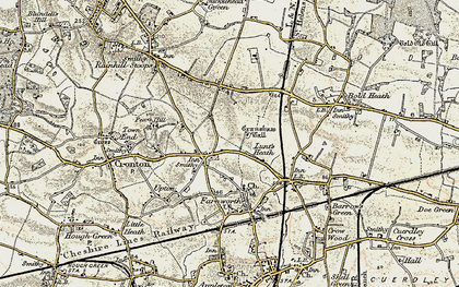 Old map of Wilmere Ho in 1903