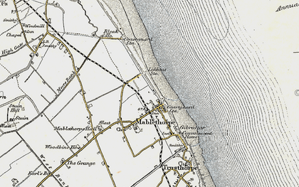 Old map of Mablethorpe in 1902-1903