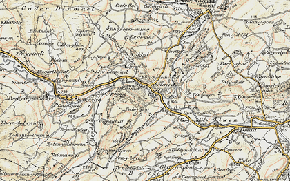 Old map of Maerdy in 1902-1903