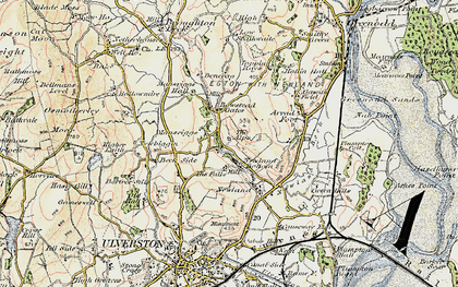 Old map of Alps, The in 1903-1904