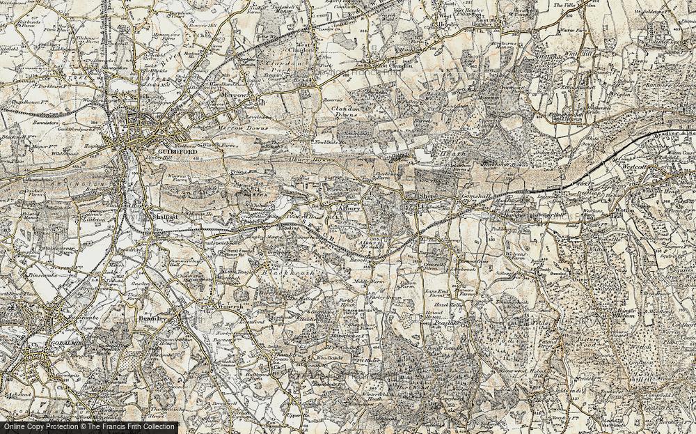 Map of Albury