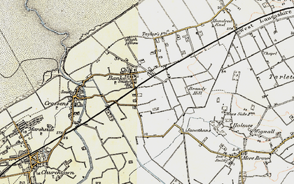 Old map of Banks in 1902-1903