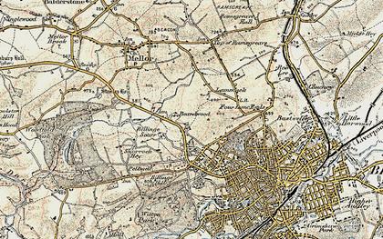 Old map of Beardwood in 1903