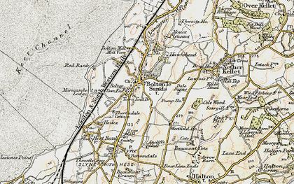 Old map of Bolton Town End in 1903-1904